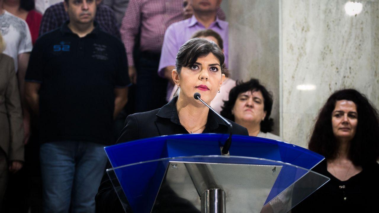 | EFE.La exfiscal anticorrupción rumana Laura Kovesi