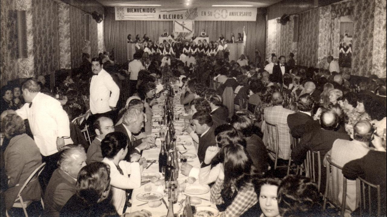Banquete del 60.ª aniversario de la asociación