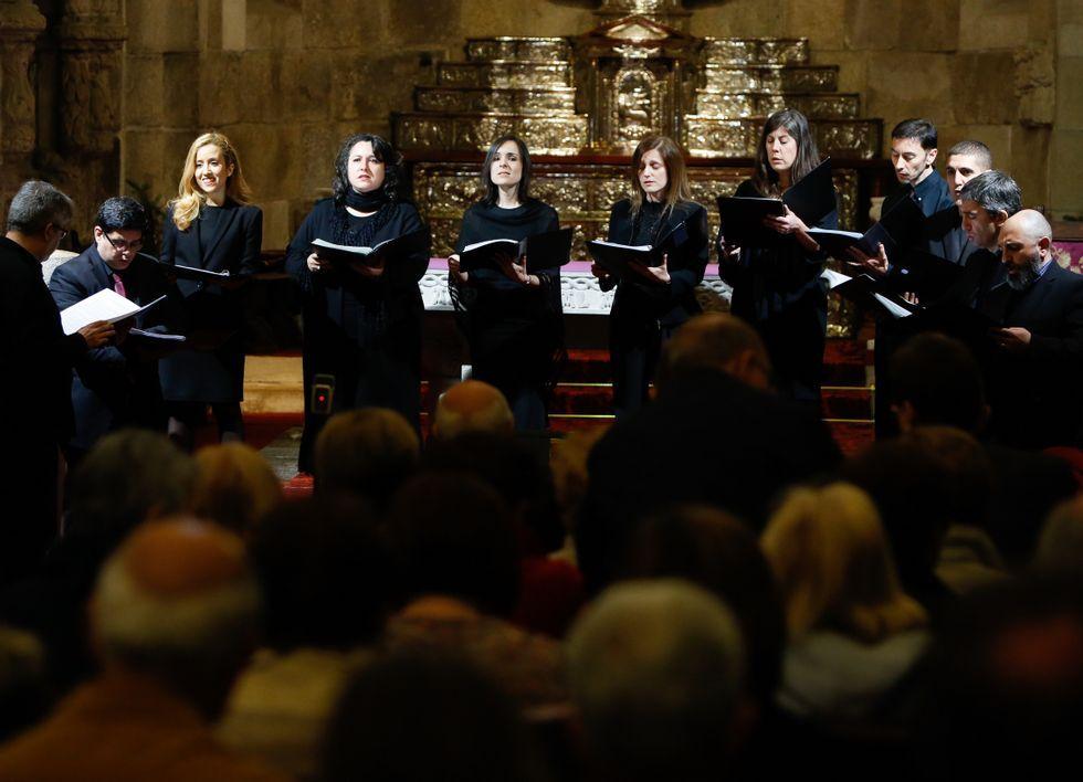 Las procesiones del Romingo de Ramos en A Coruña