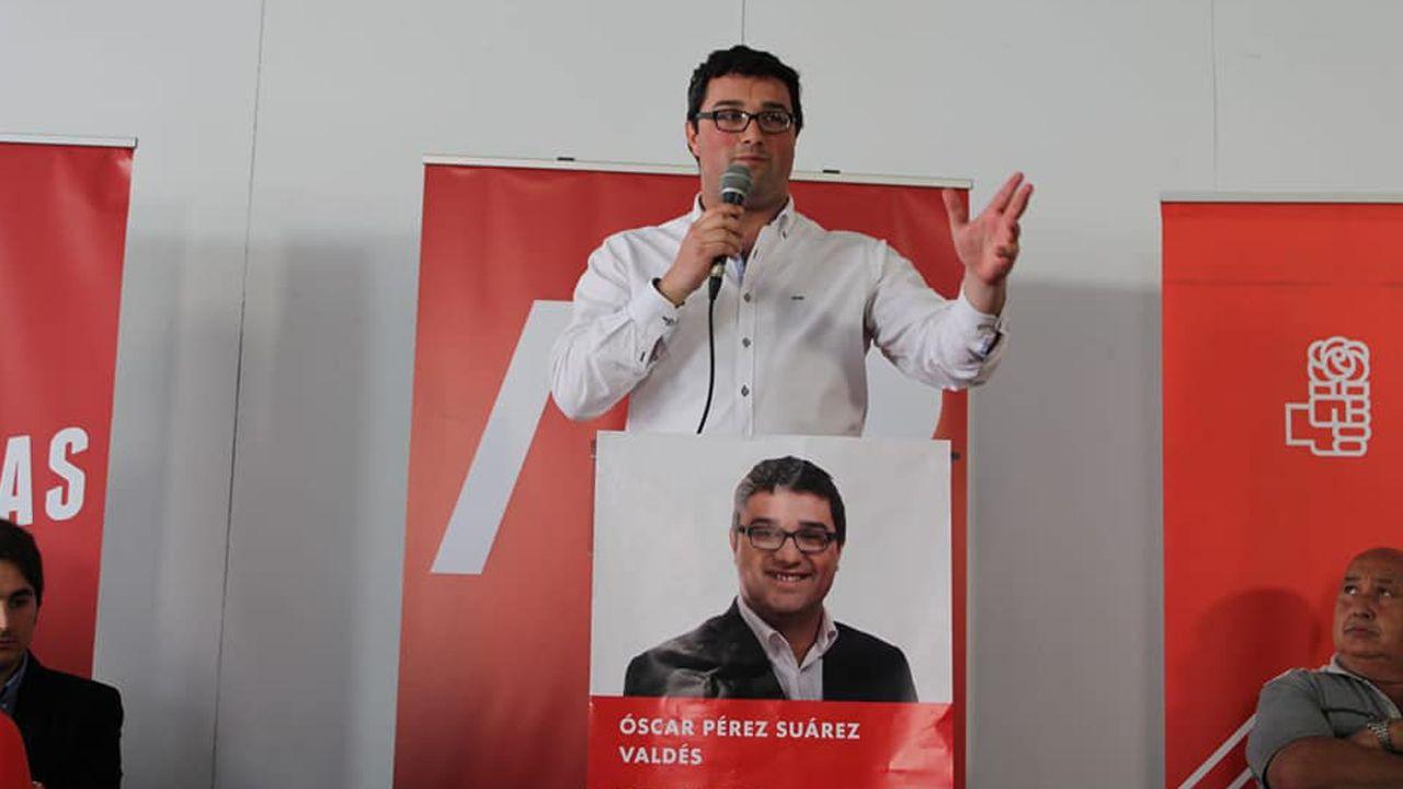 Óscar Pérez, del PSOE de Valdés