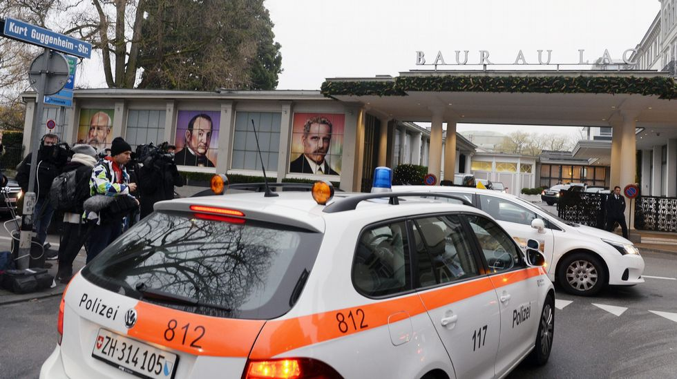 .Hotel en Suiza donde se realizaron algunas de las detenciones.