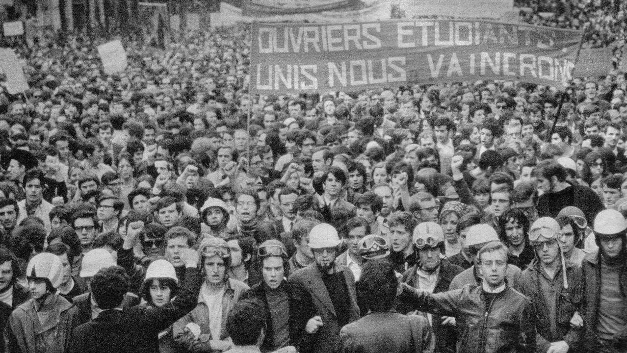.El movimiento de protesta que tomó las calles de París en el 68 transformó la sociedad francesa