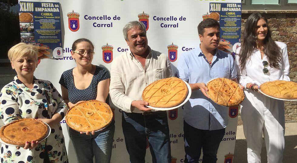 Actuación de Raquel Vázquez en las fiestas de Carral