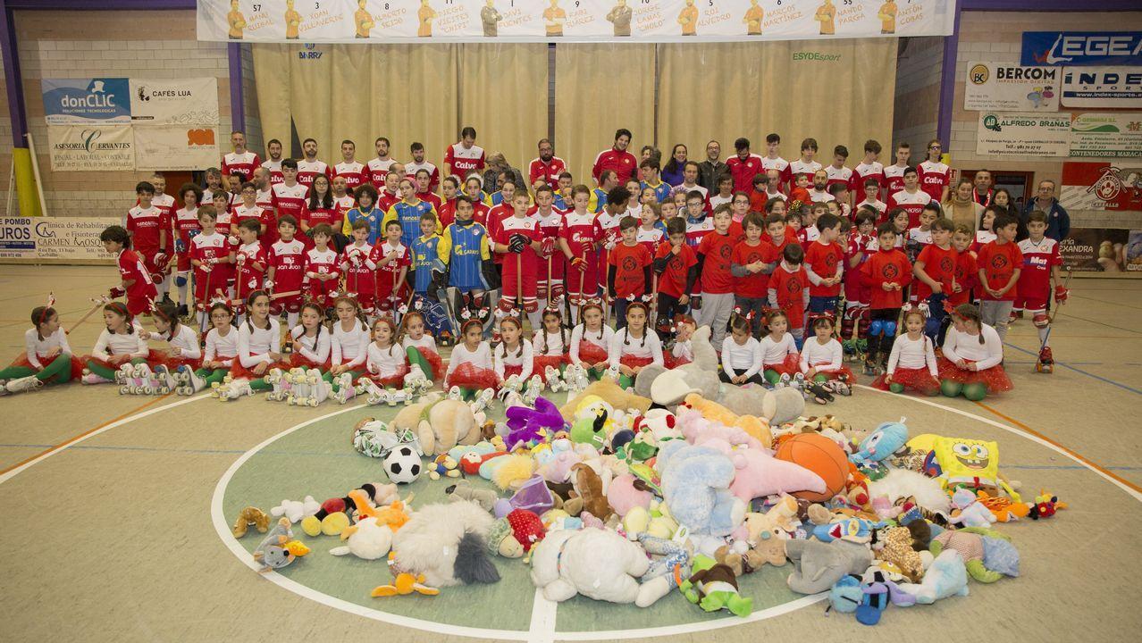 Solidaridad y deporte de la mano de la Escola Lubiáns