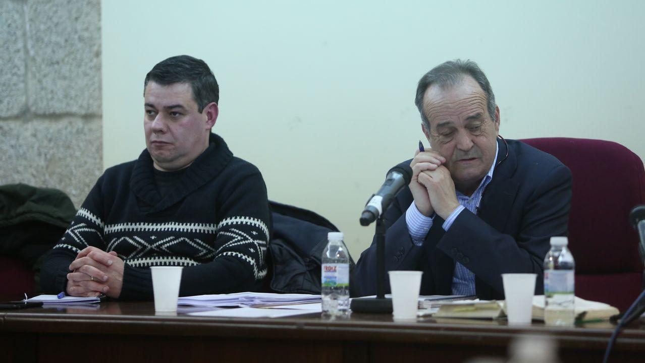 «A min non me dirixiu ninguén».Los felos madrugan en Maceda