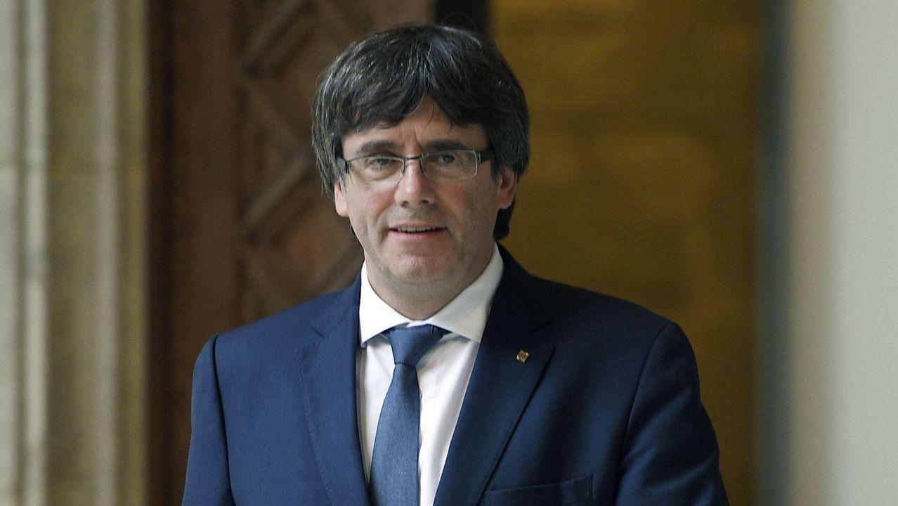 Begoña Piñeiro.Manifestación en defensa de la oficialidad de la llingua asturiana