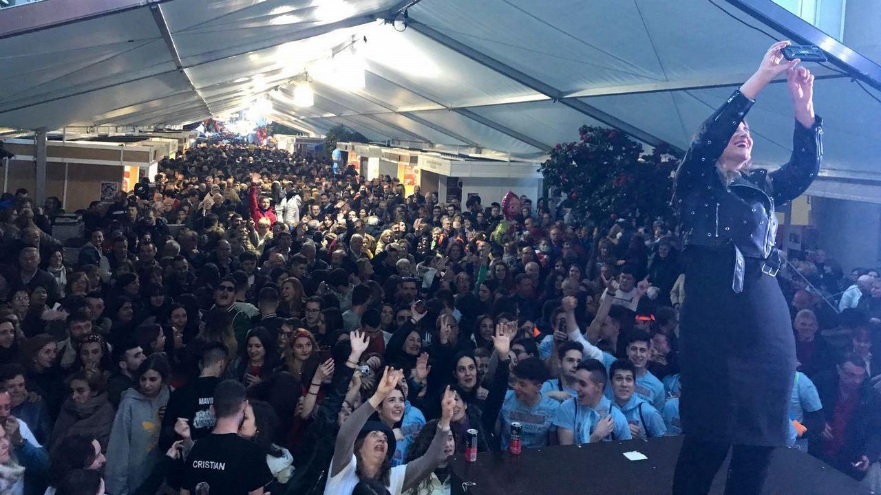 Las fiestas que cerraron la Semana Santa en Monforte, Quiroga y Portomarín