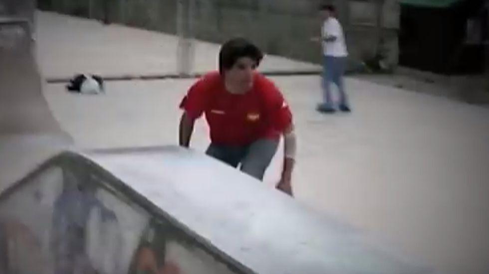 Un héroe apasionado por el «skate»