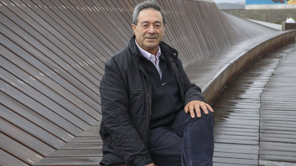 Alberto Blanco, exalcalde de Muxía