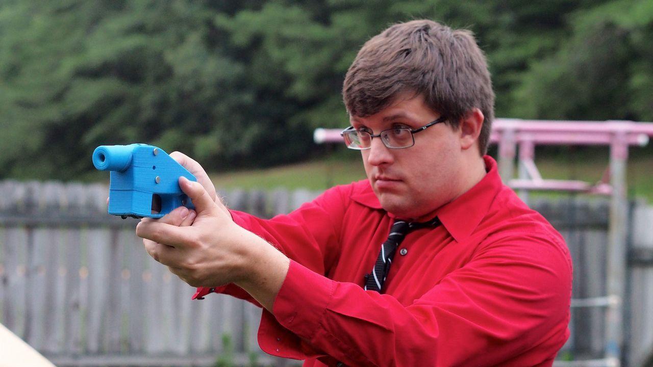 .Pistola fabricada con una impresora 3D