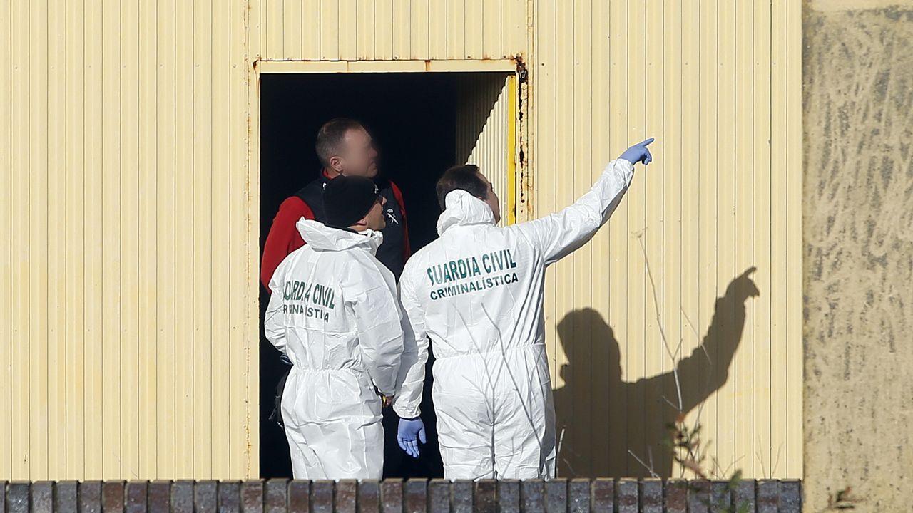 .Registro de la nave donde fue hallado el cuerpo de Diana Quer