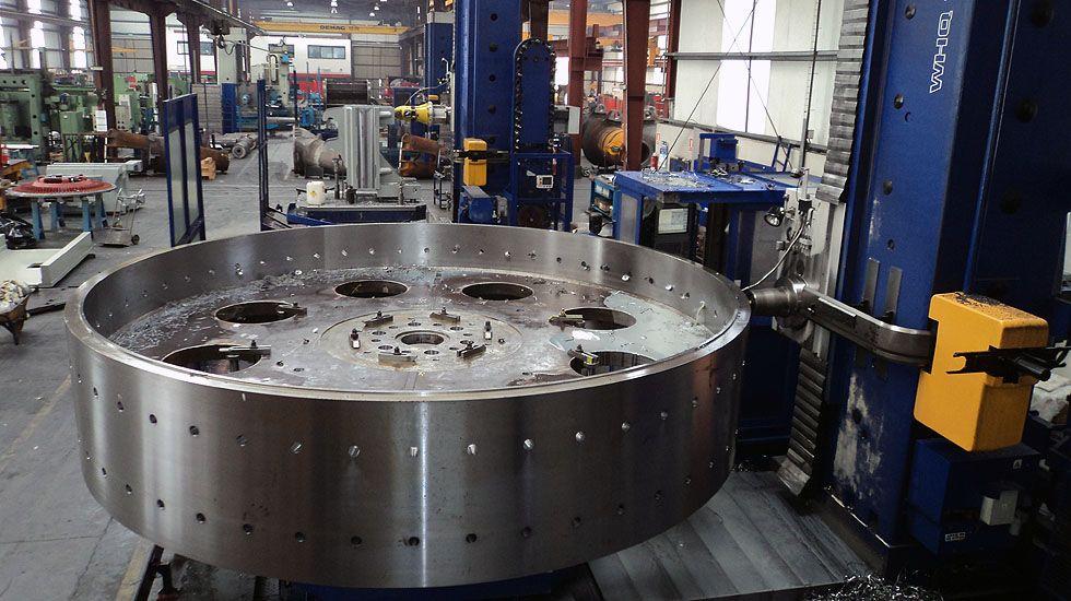 La empresa de mecanizado y fabricación de válvulas Talleres Jesús Álvarez S. A., asentada en Valnalón.La empresa de mecanizado y fabricación de válvulas Talleres Jesús Álvarez S. A., asentada en Valnalón