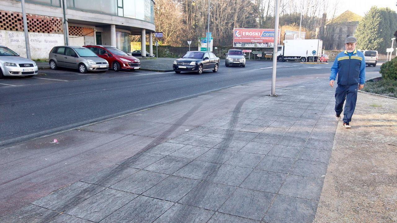 Imagen de una prueba para optar a la Policía Local celebrada en mayo en A Estrada