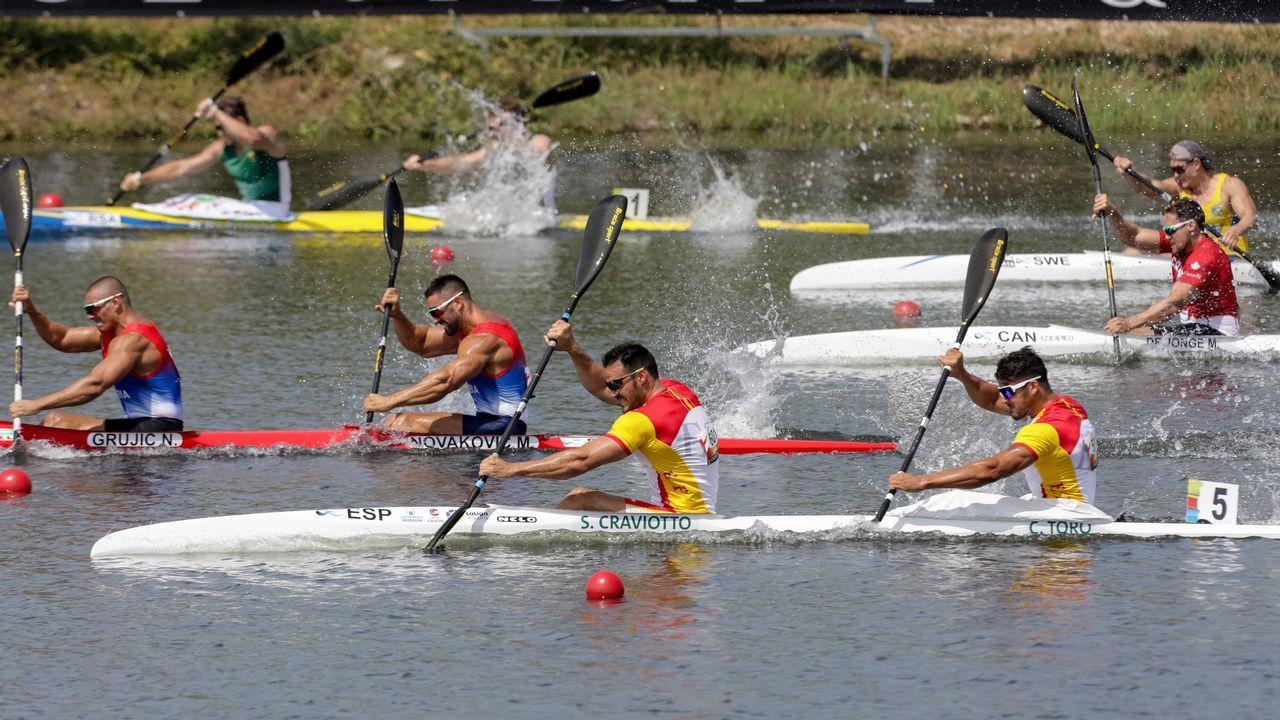 Deportistas gallegos con aspiraciones de ir a los Juegos Olímpicos de Tokio 2020.Los medallistas, en una foto de archivo