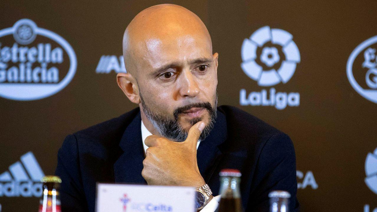 El lapsus de Miguel Cardoso en su presentación con el Celta.Quique Fornos es una de las novedades en la lista del Deportivo