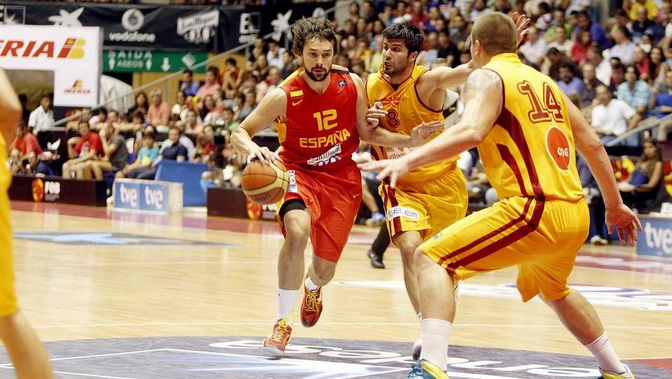 España-Macedonia en el Multiusos de Sar.Marc Gasol ante el pívot croata Tomic