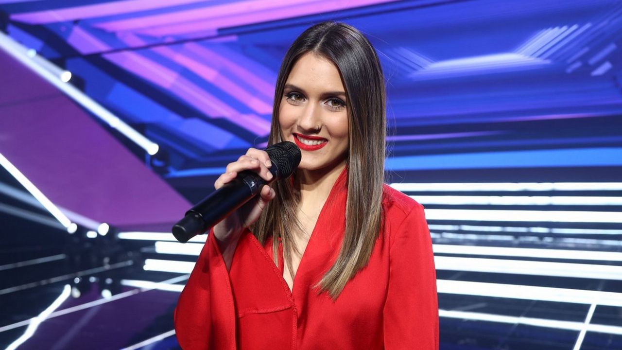 La gallega Sabela, concursante de «OT»