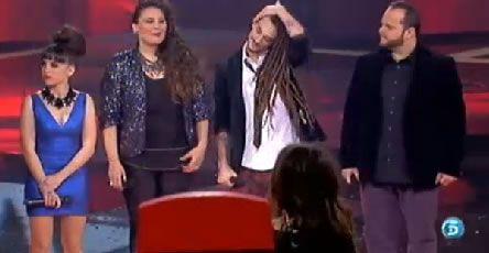 lavoz_portada.Dina Arriaza, cantó en primer lugar «Stairway to heaven» de Led Zeppelin.