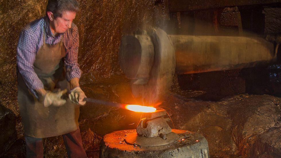 Rastros de una antigua tradición siderúrgica y minera.