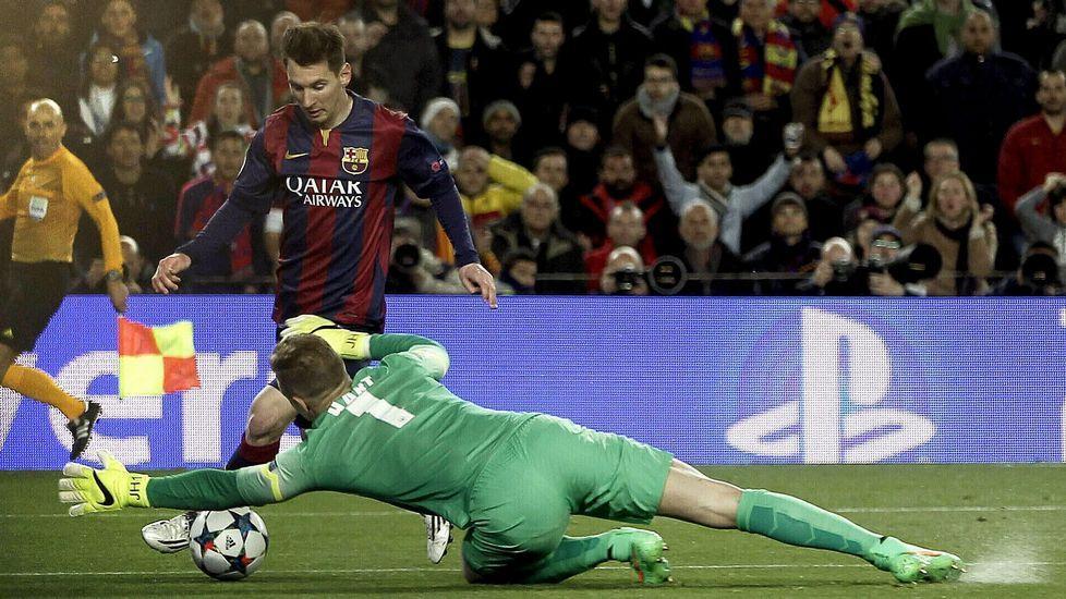 El Barcelona volvió a ganar al Manchester City y se metió en cuartos de final de la Champions.