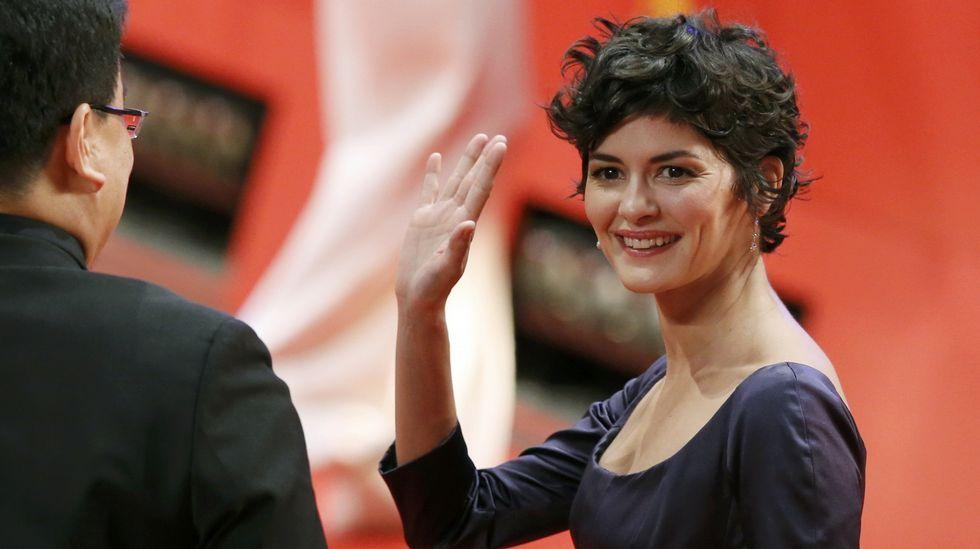 La actriz Francesa Audrey Tautou.