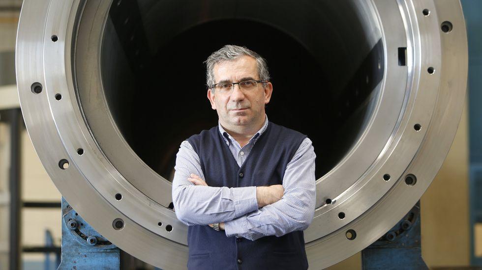José Ramón Franco preside un clúster qeu cuenta con una veintena de compañías