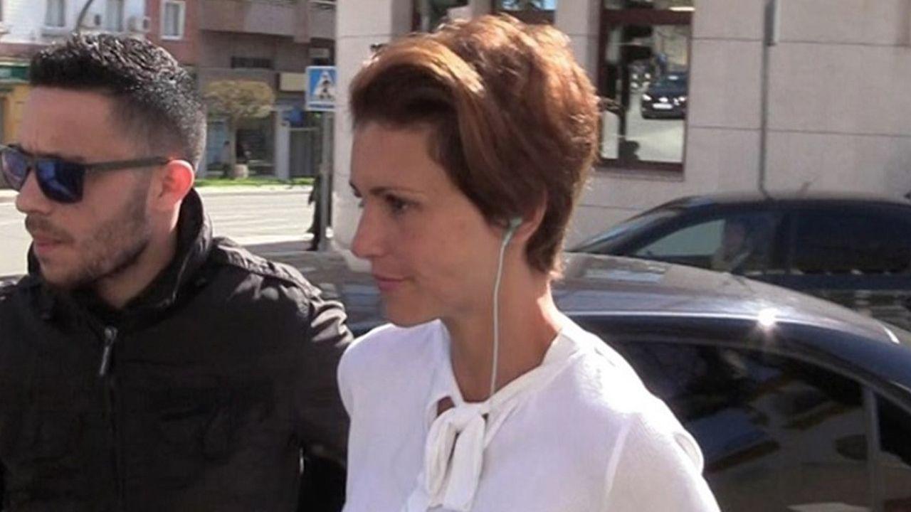 Maria Jesús Ruiz acude al juicio con Gil Silgado