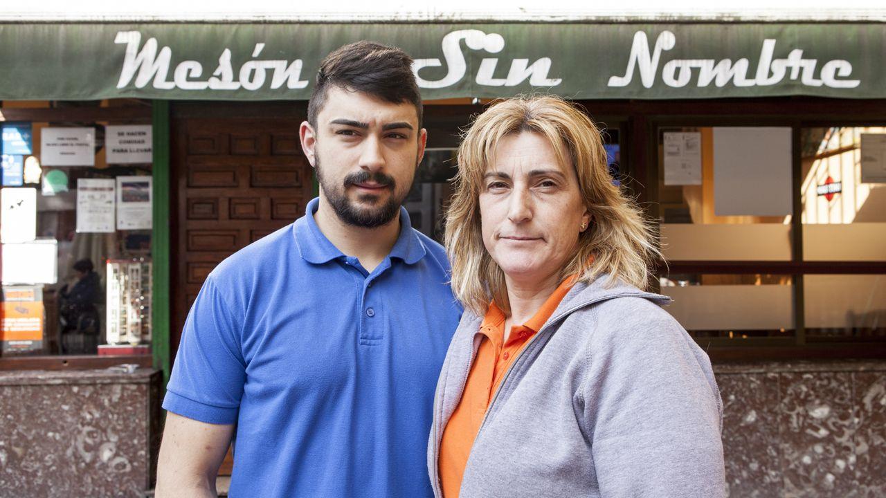 Pumarín.Olivia Pérez y José González están al frente del «Mesón Sin Nombre»