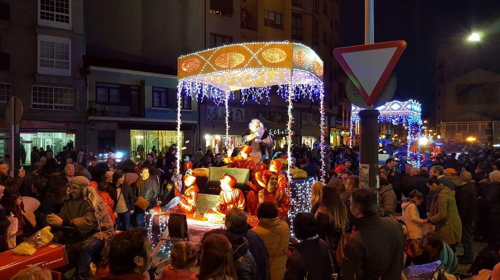 Los Reyes Magos en Sarria