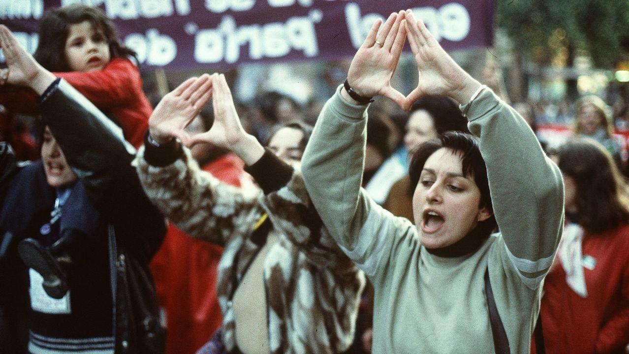 Colectivos feministas se manifestaron en mayo de 1978 a favor del aborto y la planificación familiar