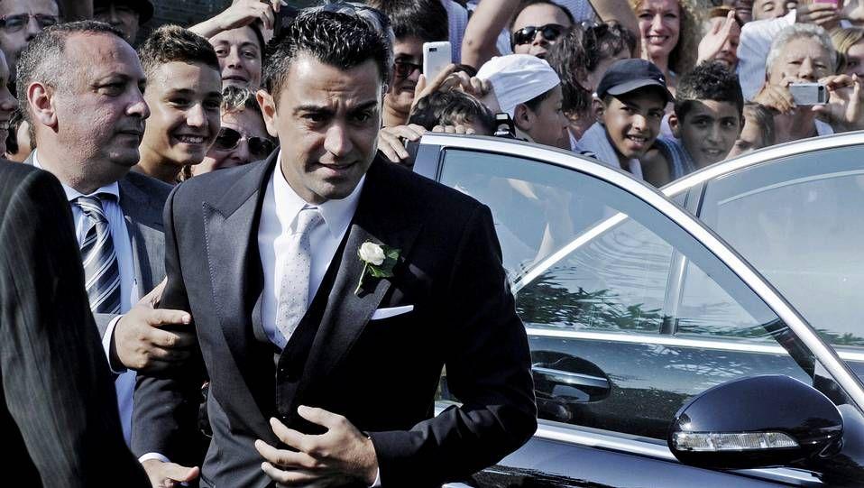Los jugadores del Barça acompañaron a Xavi el día de su boda.Unai Casillas, hermano de Iker Casillas, a su salida de la clínica Ruber.