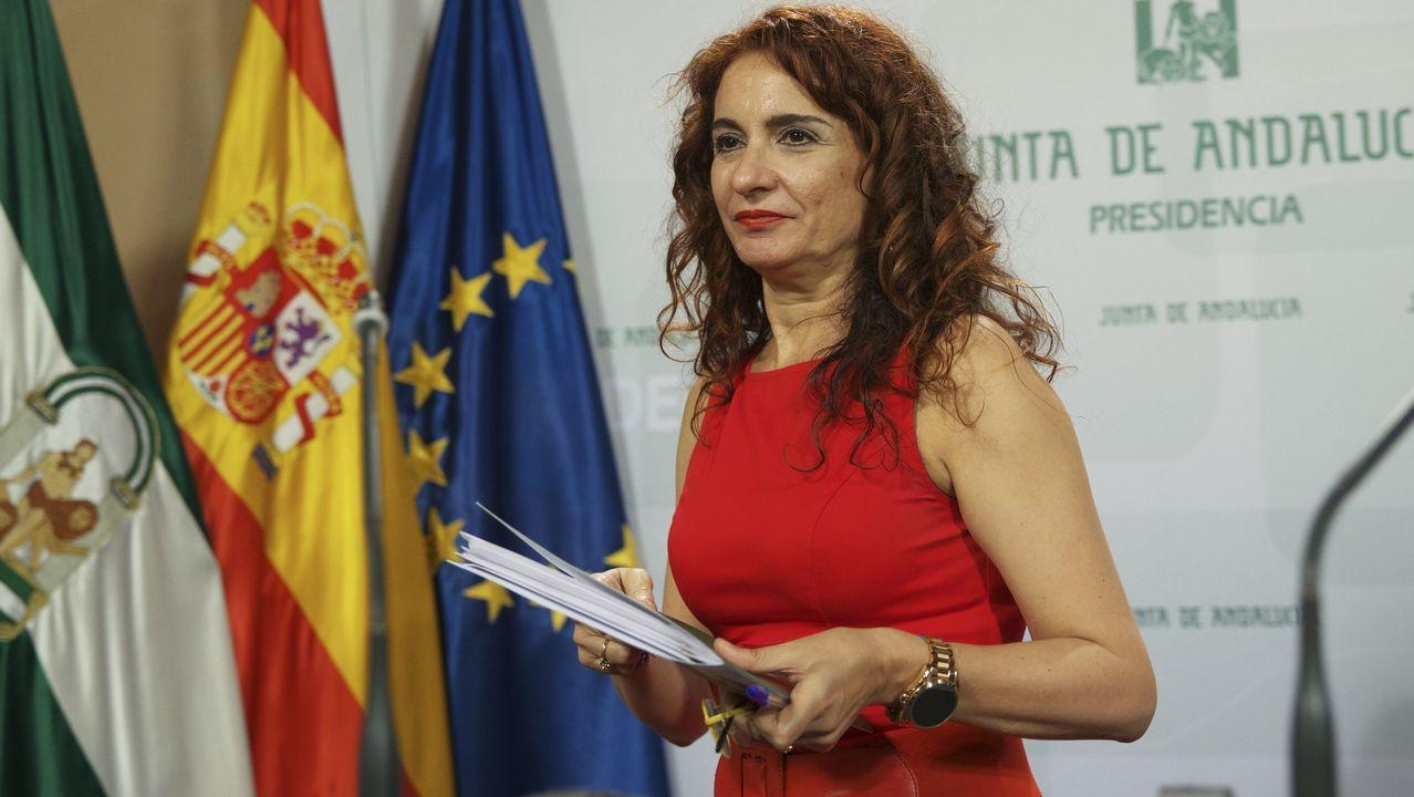 María Jesús Montero, consejera de la Junta de Andalucía, será la nueva ministra de Hacienda