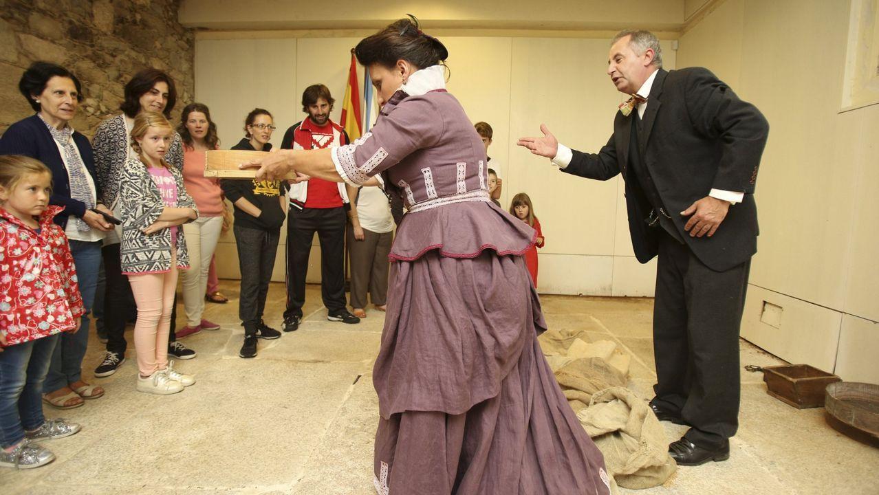 Las visitas teatralizadas son gratuitas en Dombate, O Allo o Vimianzo.