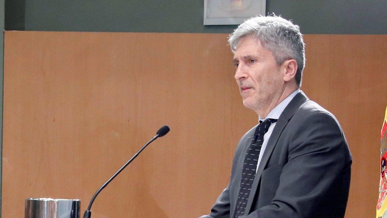 .El ministro del Interior, Fernando Grande-Marlakca
