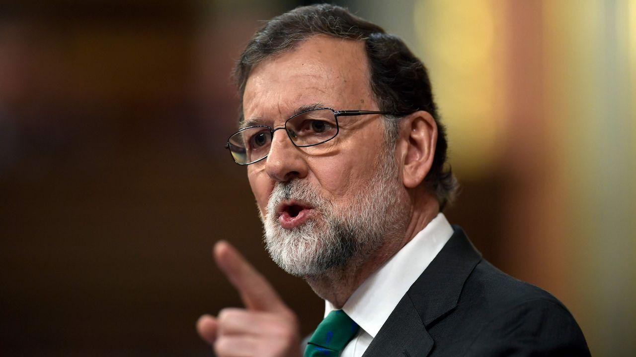 Mariano Rajoy a Sánchez: «Sabe que en las urnas no ganará nunca»