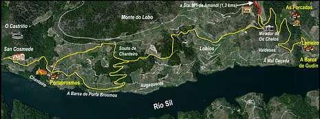 Galicia y Asturias se dan la mano en Muíños