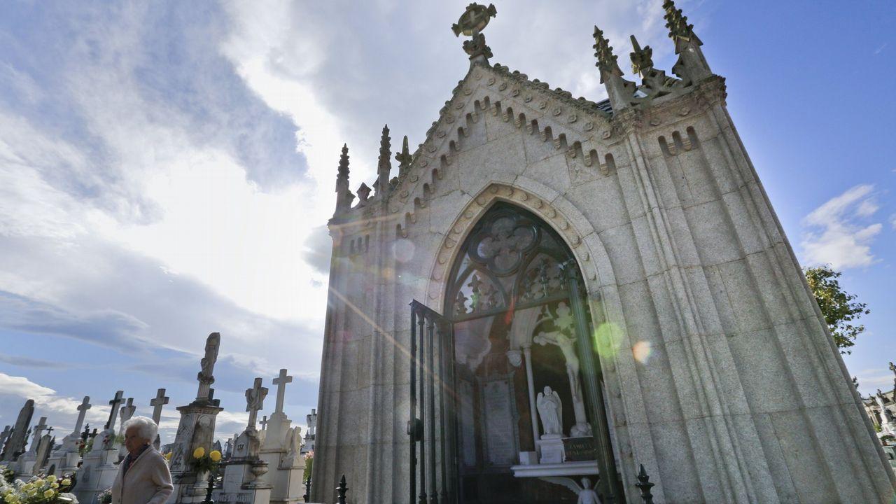 Los diez cementerios más curiosos de Galicia.Ramón Argüelles