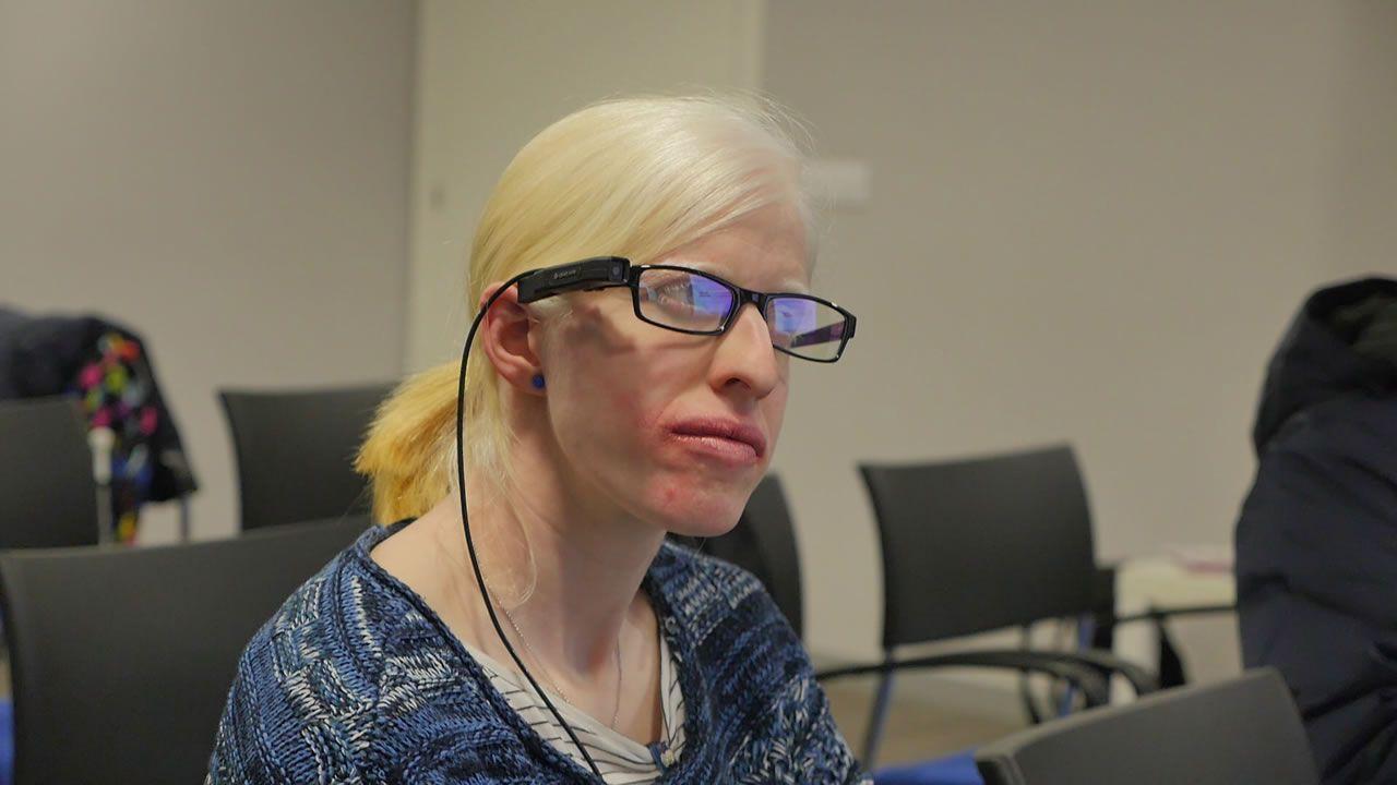 El «wearable» que permite «ver» a los ciegos.