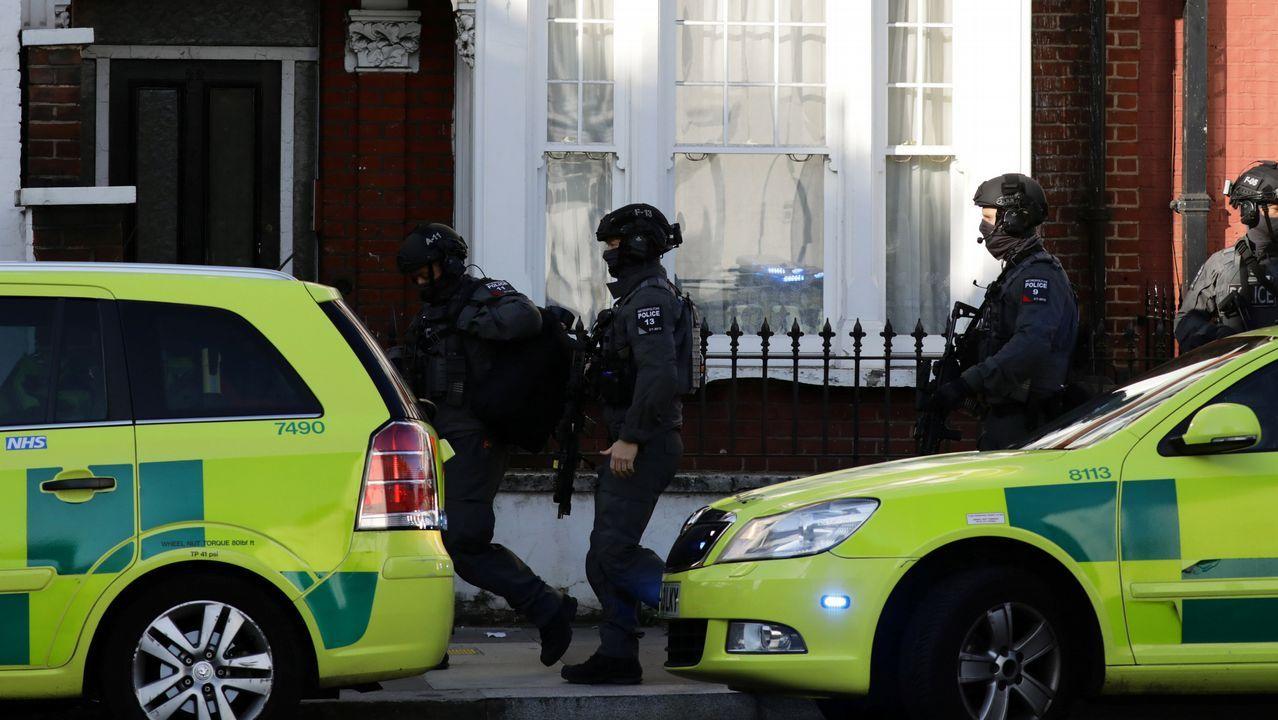 La explosión habría tenido su origen en un cubo blanco con una bolsa de plástico situado en un vagón del suburbano