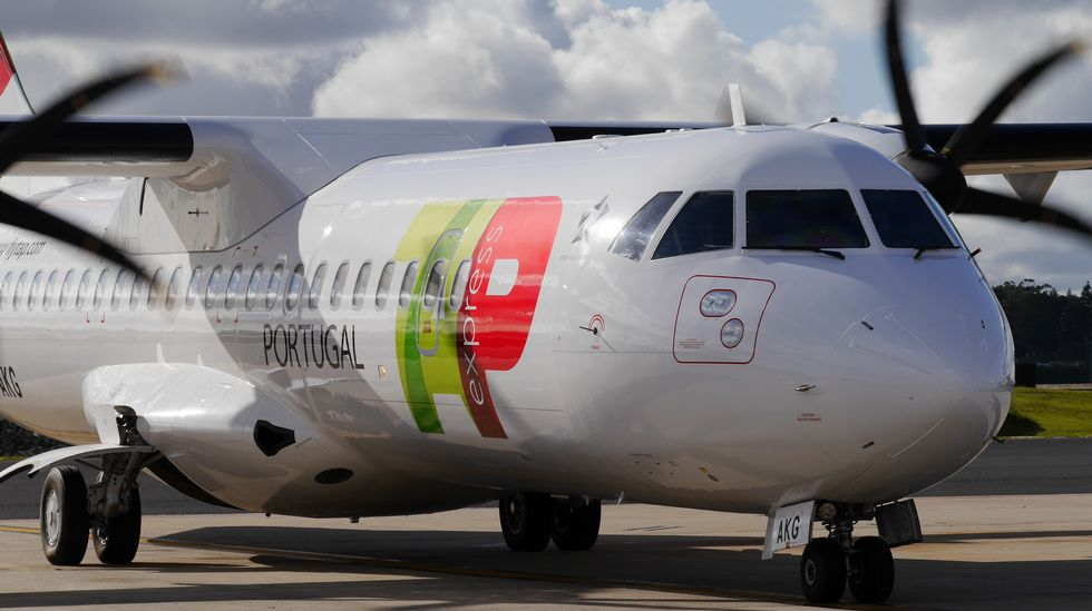 Avión de la compañía TAP