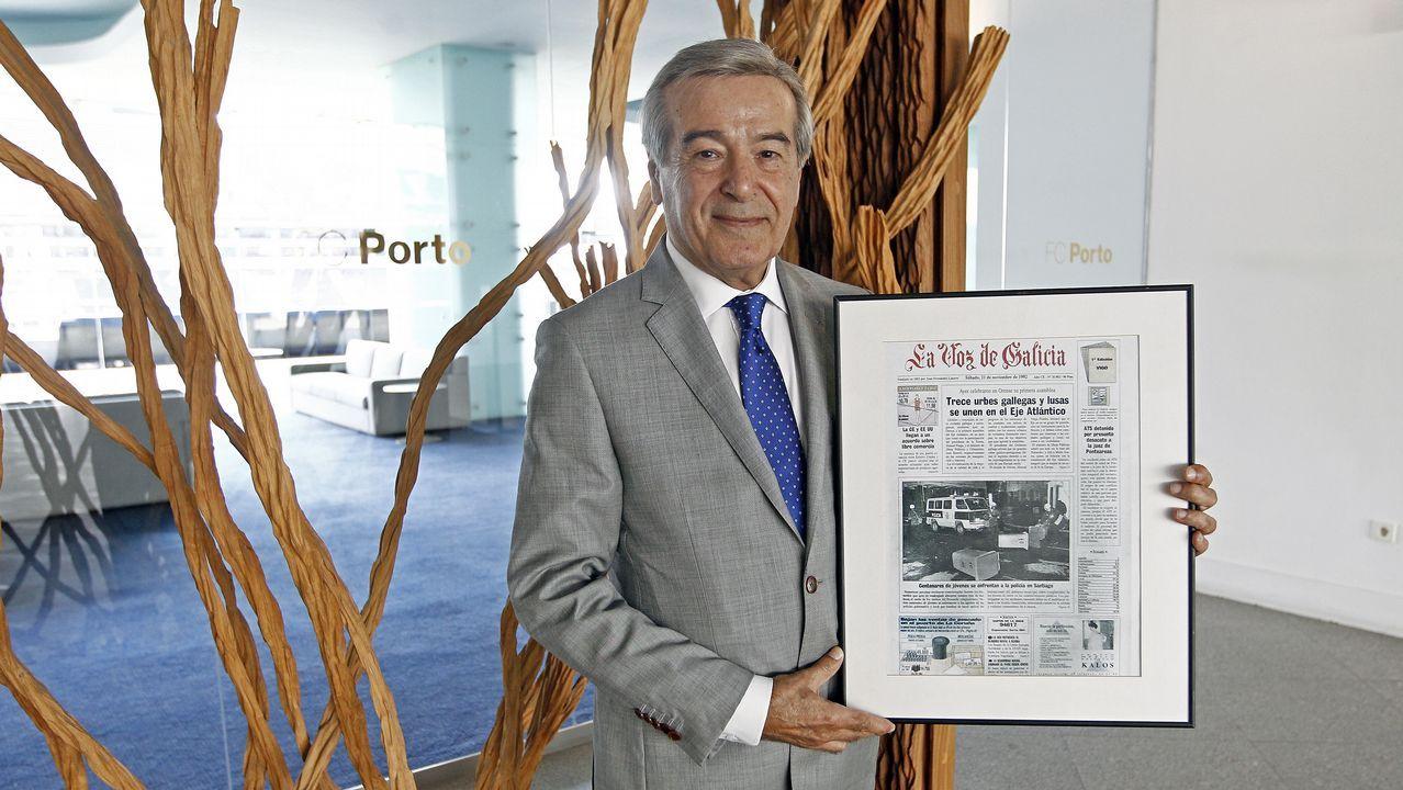 «El Eixo Atlántico ayudó a eliminar las cicatrices de la historia y de la frontera»