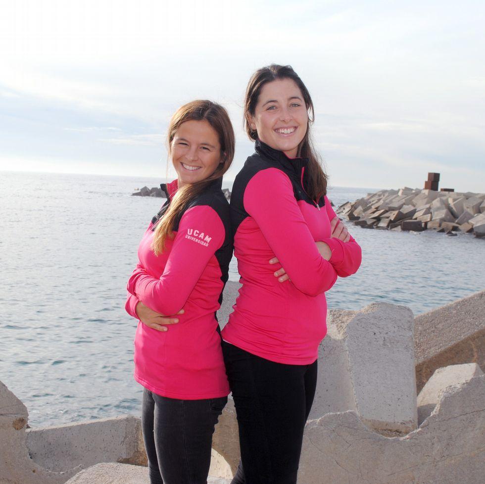 Sofía Toro (izquierda) y su nueva compañera, Nora Brugman.