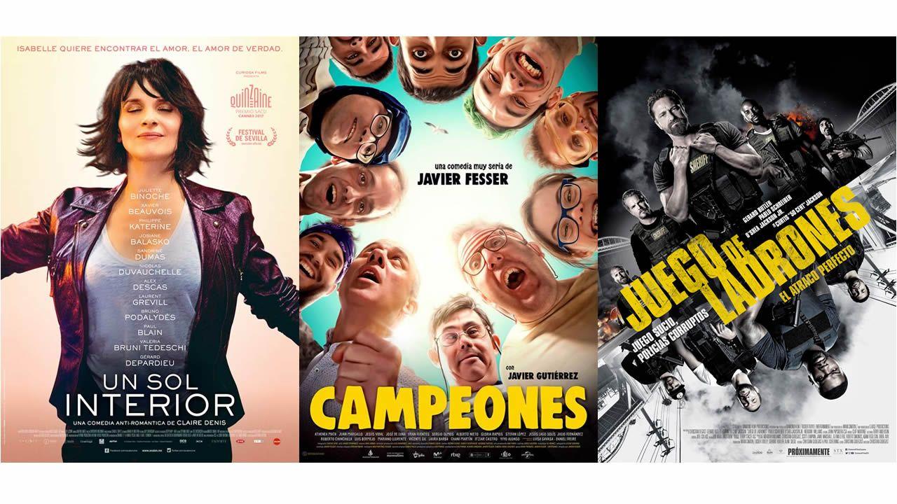 Cartelera: estrenos de cine para un fin de semana lluvioso.Autorretratos de Miró, Blanchard, Braque, Picasso, Dalí y Gris.