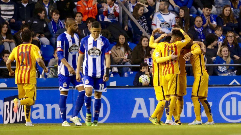 El Deportivo-Barcelona, en fotos