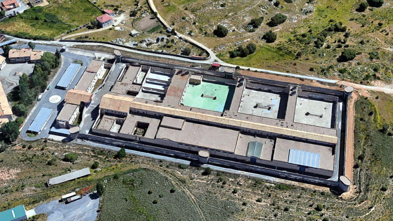 La prisión de Brieva, en una imagen de Google Streetview