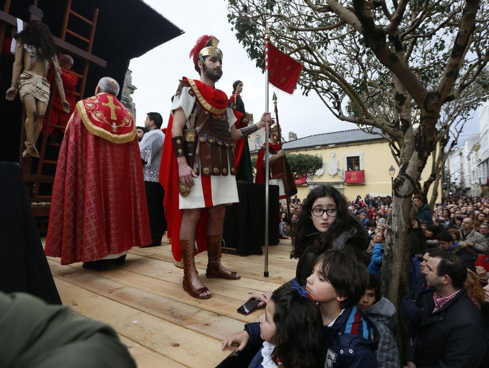 El Desenclavo se celebró en el atrio de Santa María.