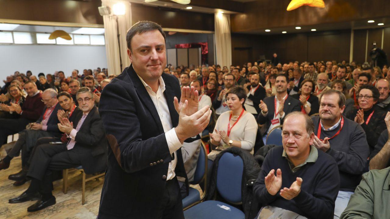 González Formoso quiere fijar las bases del socialismo coruñés en las municipales.El alcalde de Pontevedra fue el que más cobró, 69.132 euros
