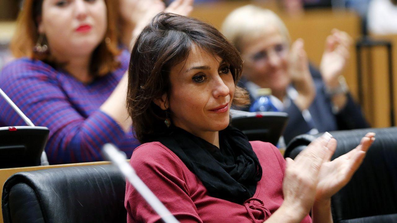 El responsable de Organización de Podemos Astures, Xuacu Rodríguez.
