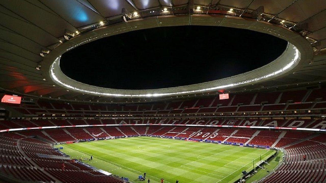 Joselu Requexon Real Oviedo.Estadio Wanda Metropolitano