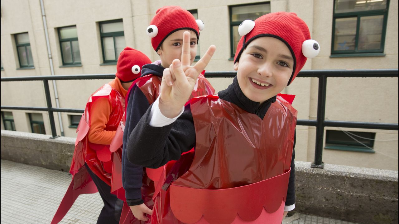 Carnaval del colegio Milladoiro de Malpica